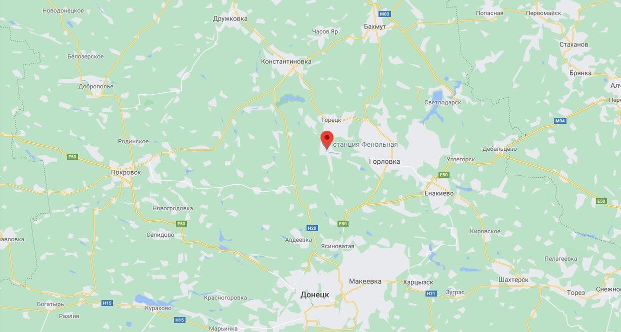 Автоцистерна АРС-14 подорвалась возле пгт Новгородское Донецкой области.