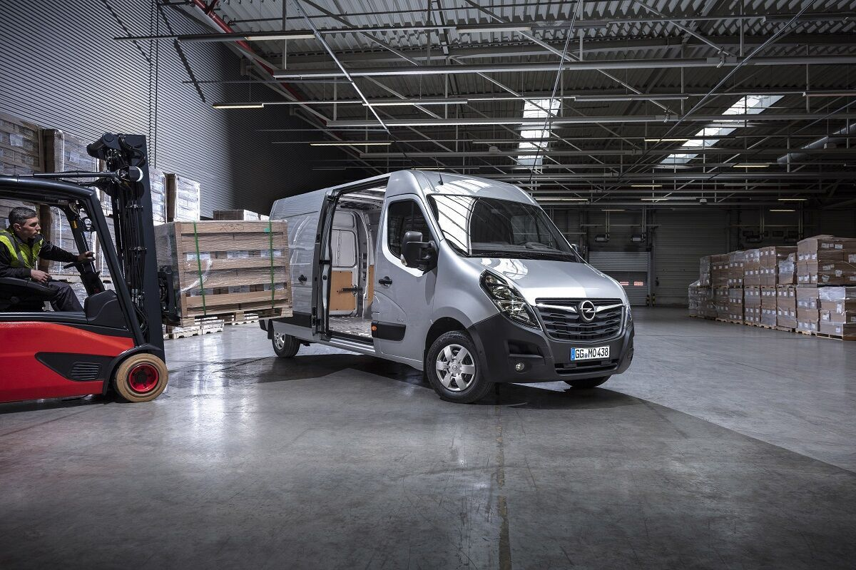 2020 Opel Movano. Фото: