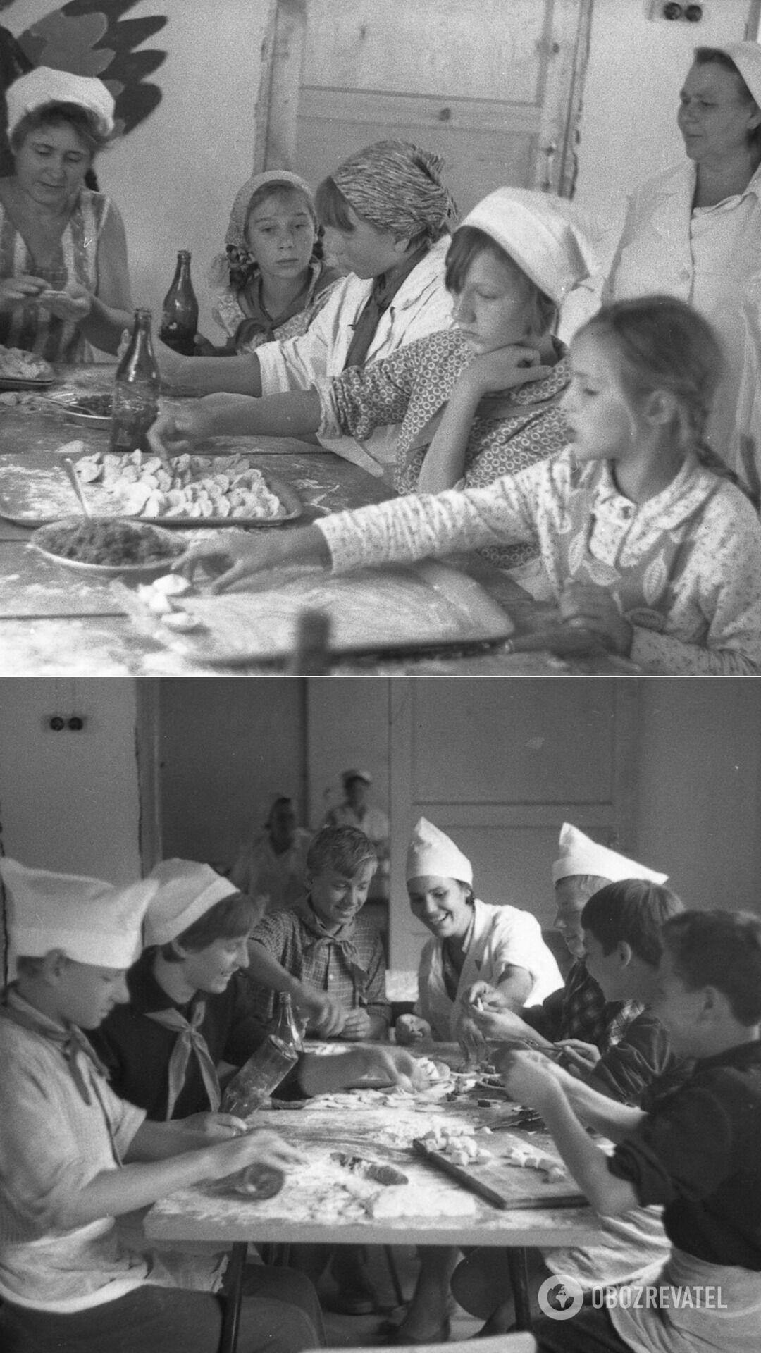 Часто в СССР дети вместе с родителями лепили пельмени про запас