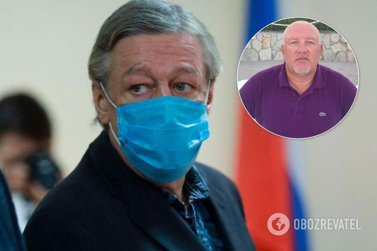 Бывший криминальный авторитет Михаил Орский дал советы Ефремову, как вести себя в колонии. коллаж