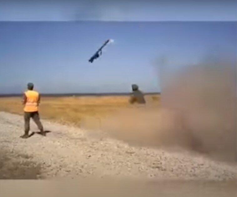 """Запуск из ПЗРК """"Игла"""" в России обернулся неудачей."""
