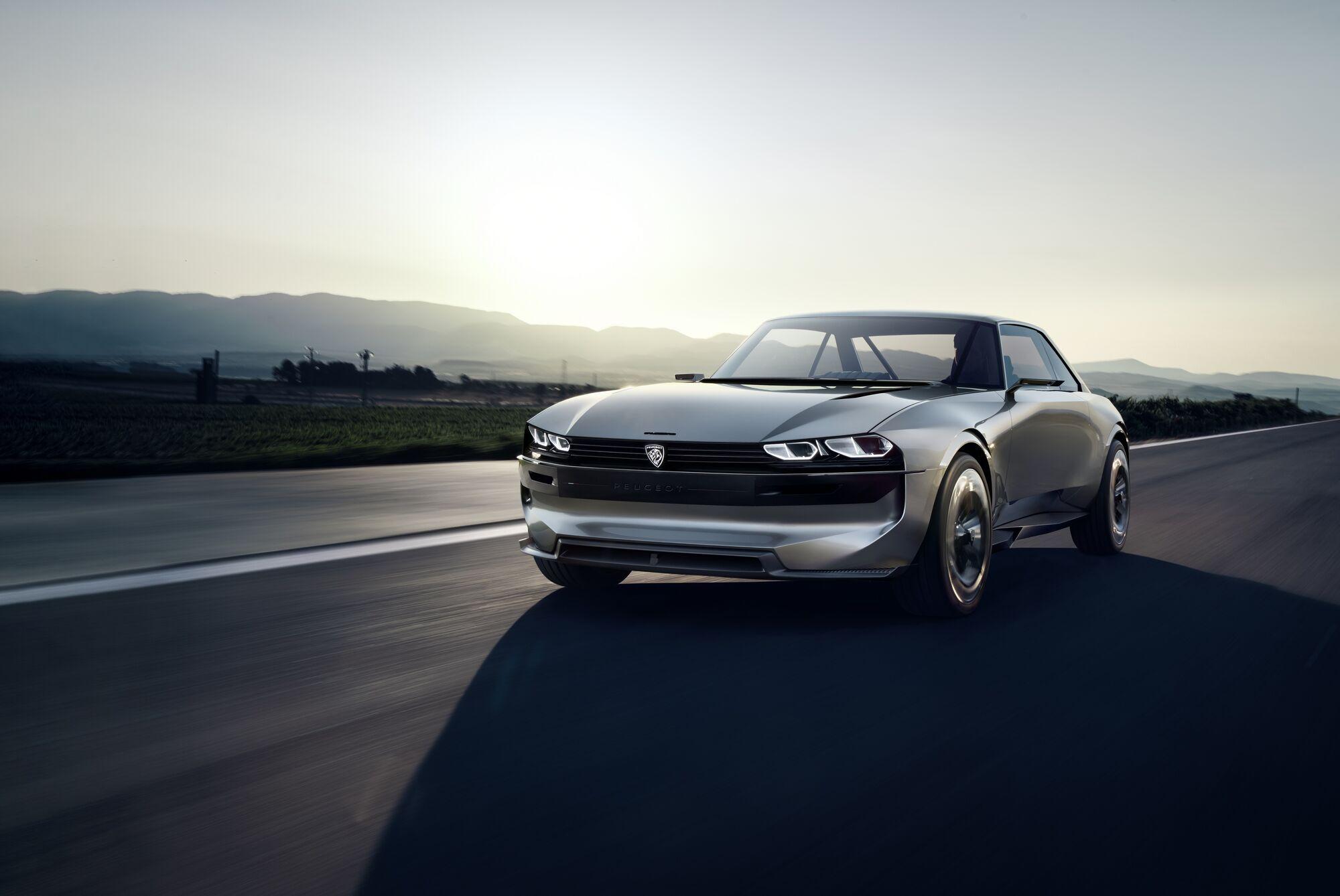 Peugeot e-Legend Concept. фото: