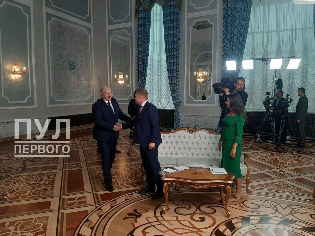 Симоньян и другие пропагандисты Кремля приехали в Минск на интервью с Лукашенко