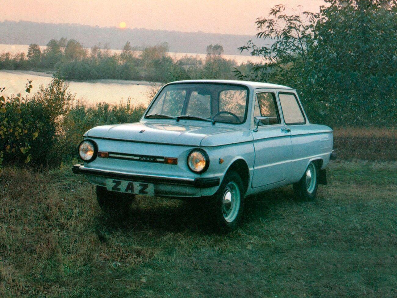 В необычной машине уже невозможно узнать оригинальный ЗАЗ-968.