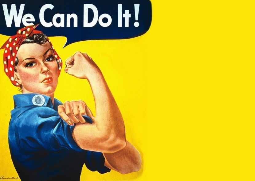 """Плакат """"We Can Do It!"""""""