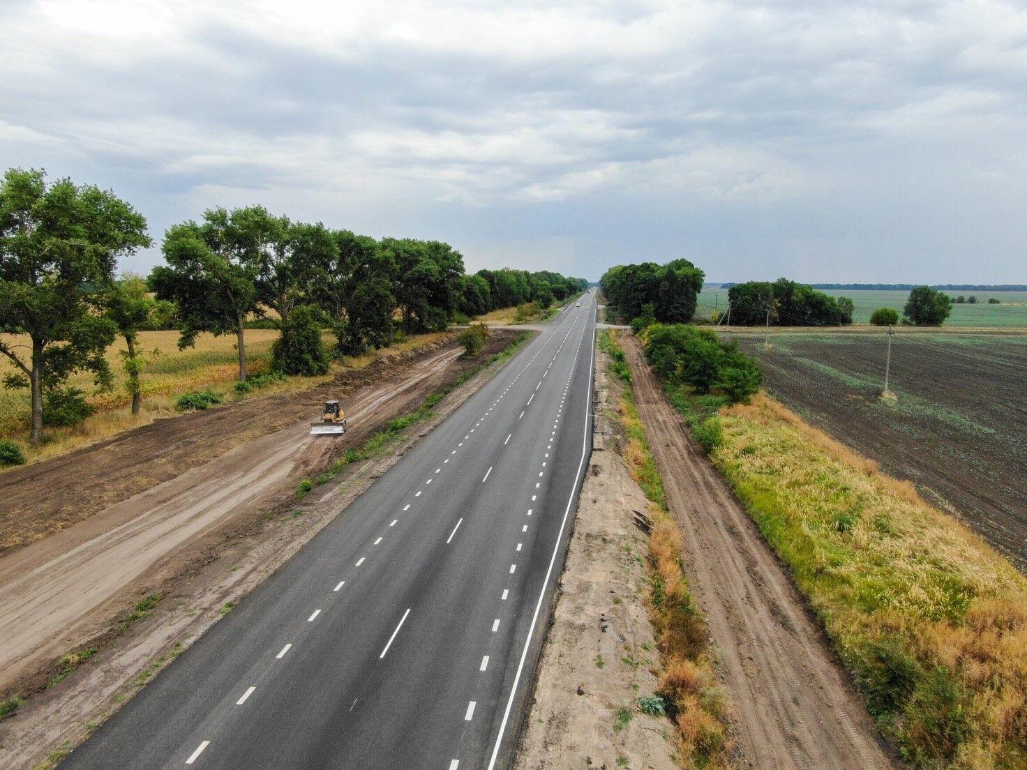Трасса Н-07 Киев – Сумы – Юнаковка