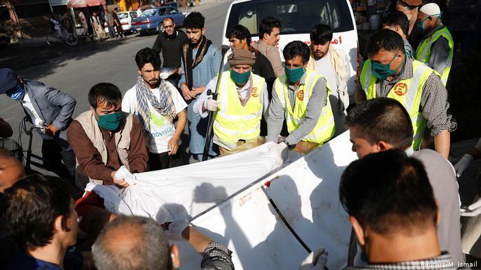 Відомо про щонайменше двох жертв вибуху в Кабулі і 12 поранених