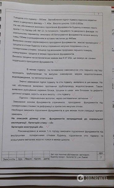 Документи по експертизі