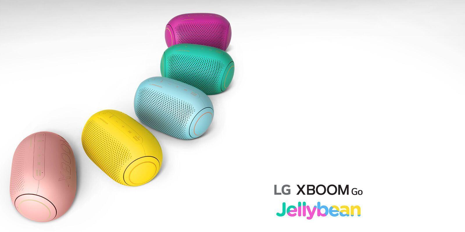 LG представила новые портативные колонки XBOOM GO