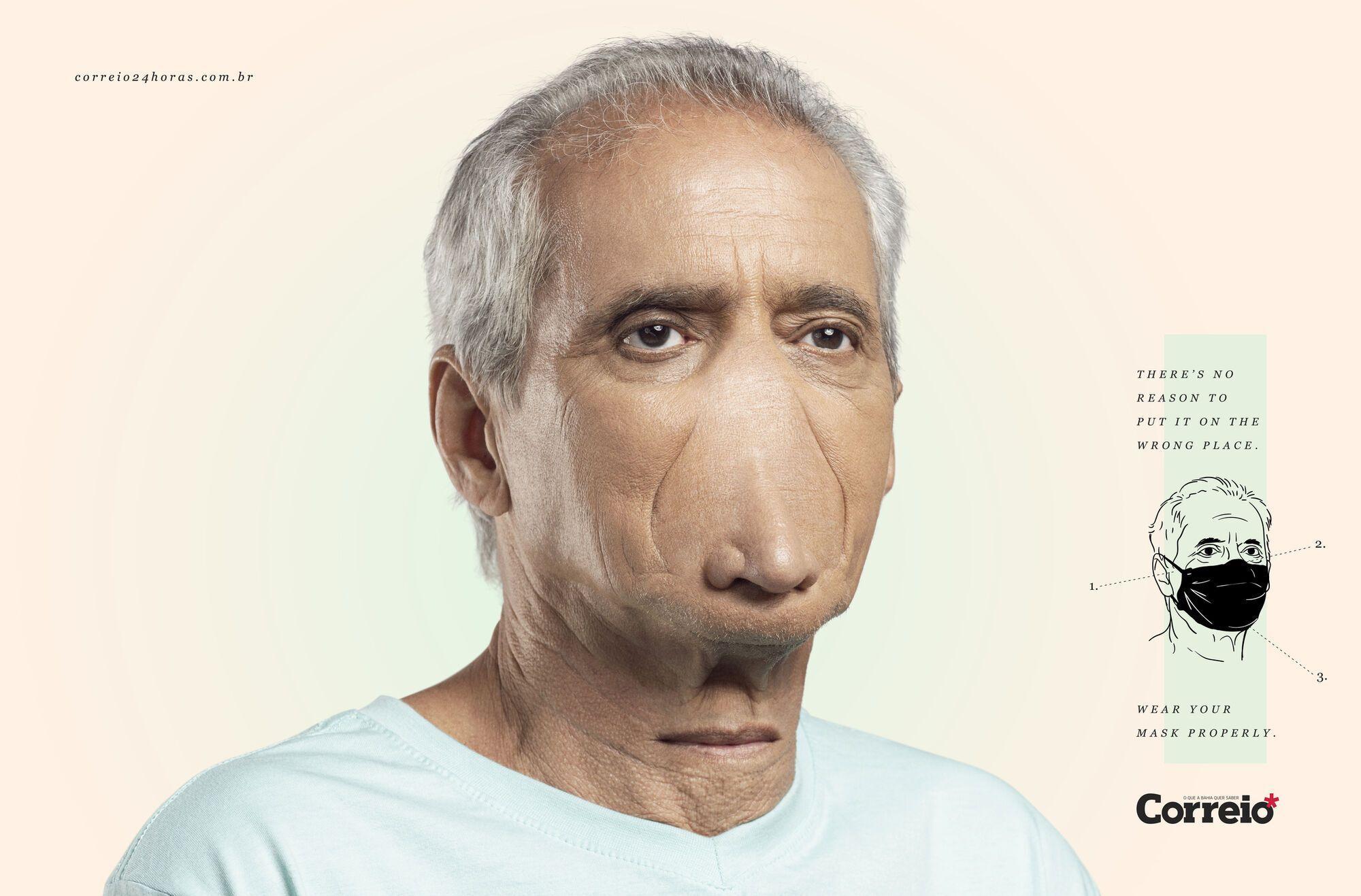 Как должны выглядеть люди, которые носят маску на подбородке