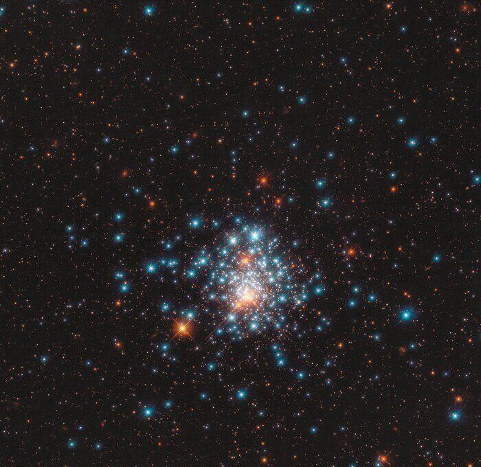 Фото, сделанное космическим телескопом Hubble