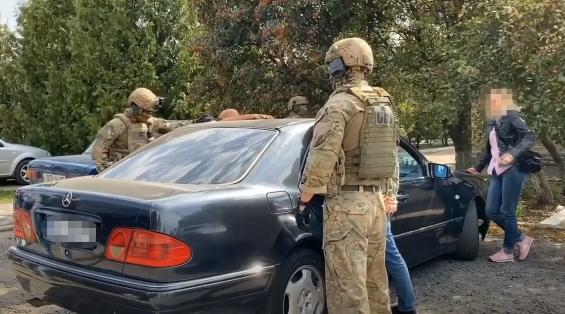Затримання відбулося на Харківщині.