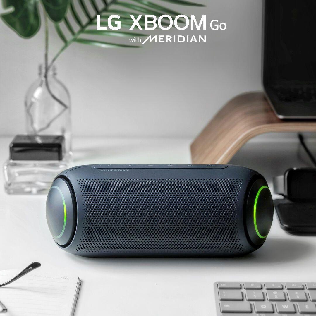 LG представила нові портативні колонки XBOOM GO
