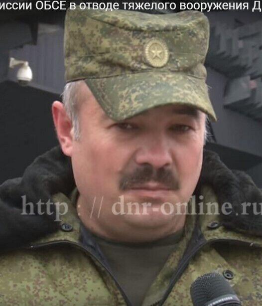 Фото российского военного.
