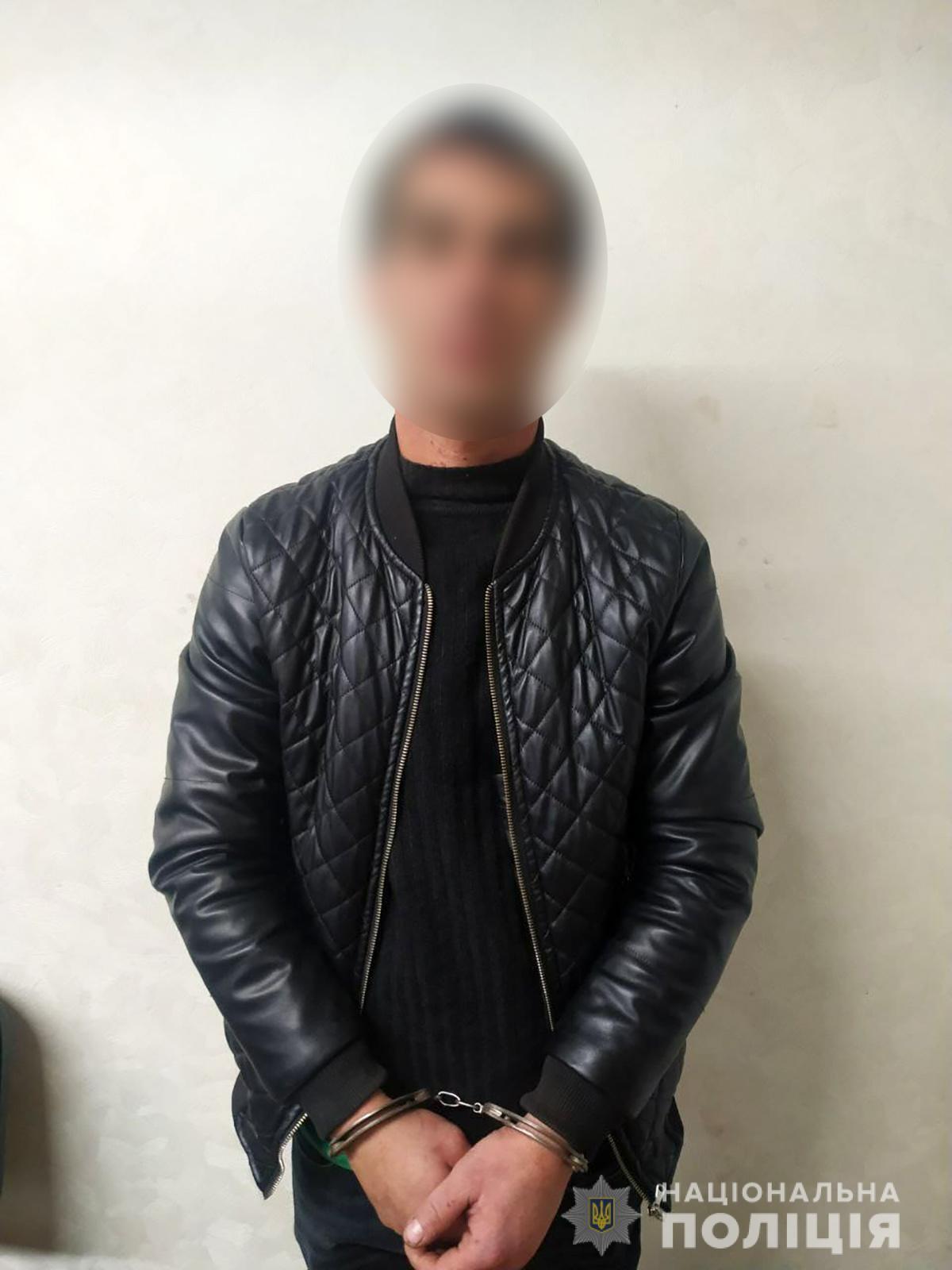 На Запоріжжі поліція затримала 33-річного мешканця Василівського району Київської області