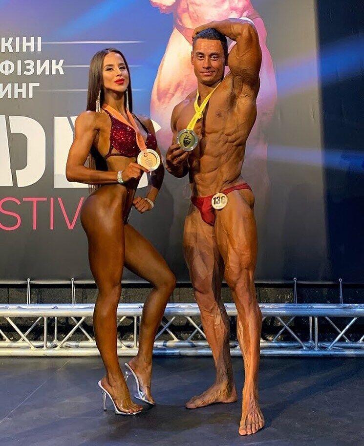 Олеся Шевчук на соревнованиях