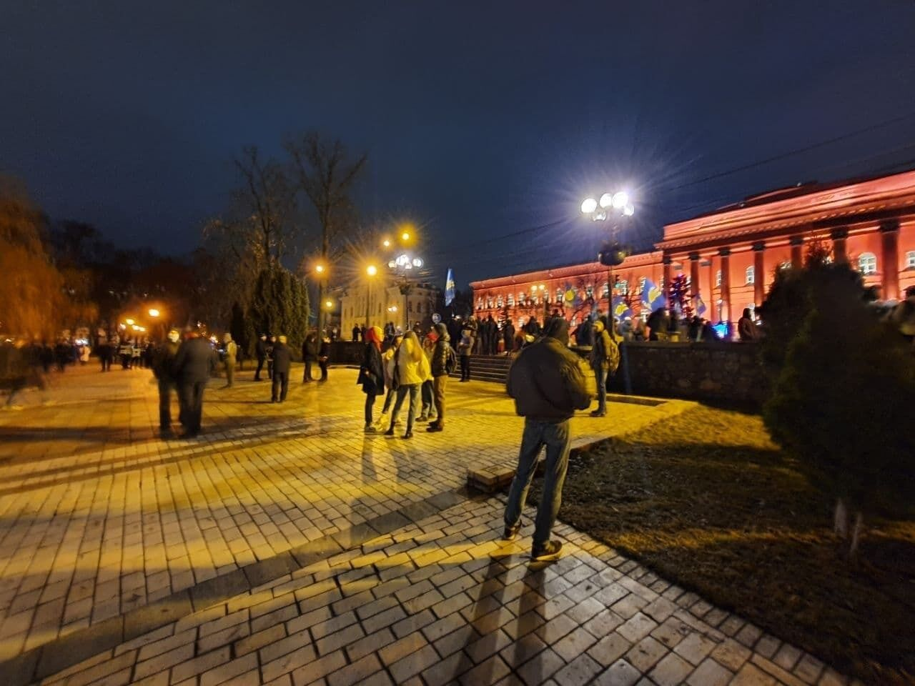 Збір жителів Києва на акцію
