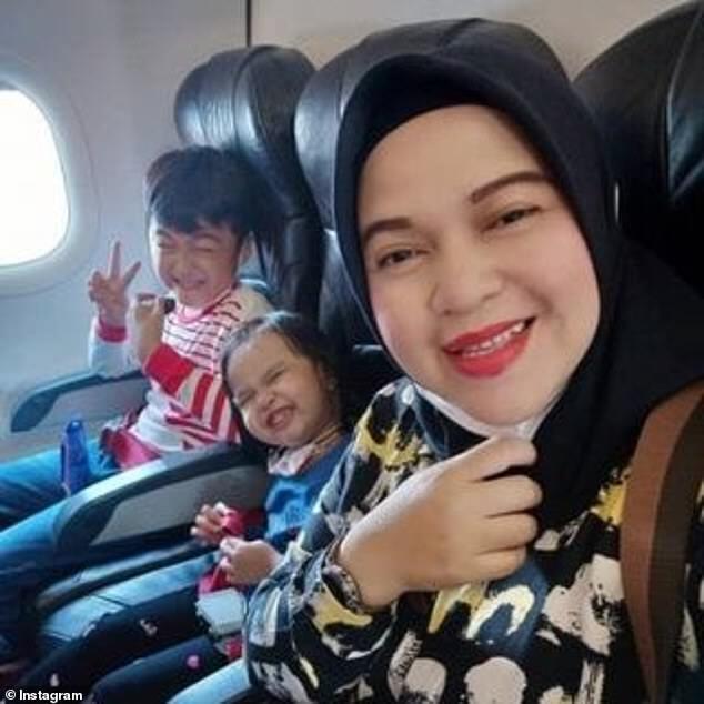Ратих Виндания опубликовала фото со своими детьми