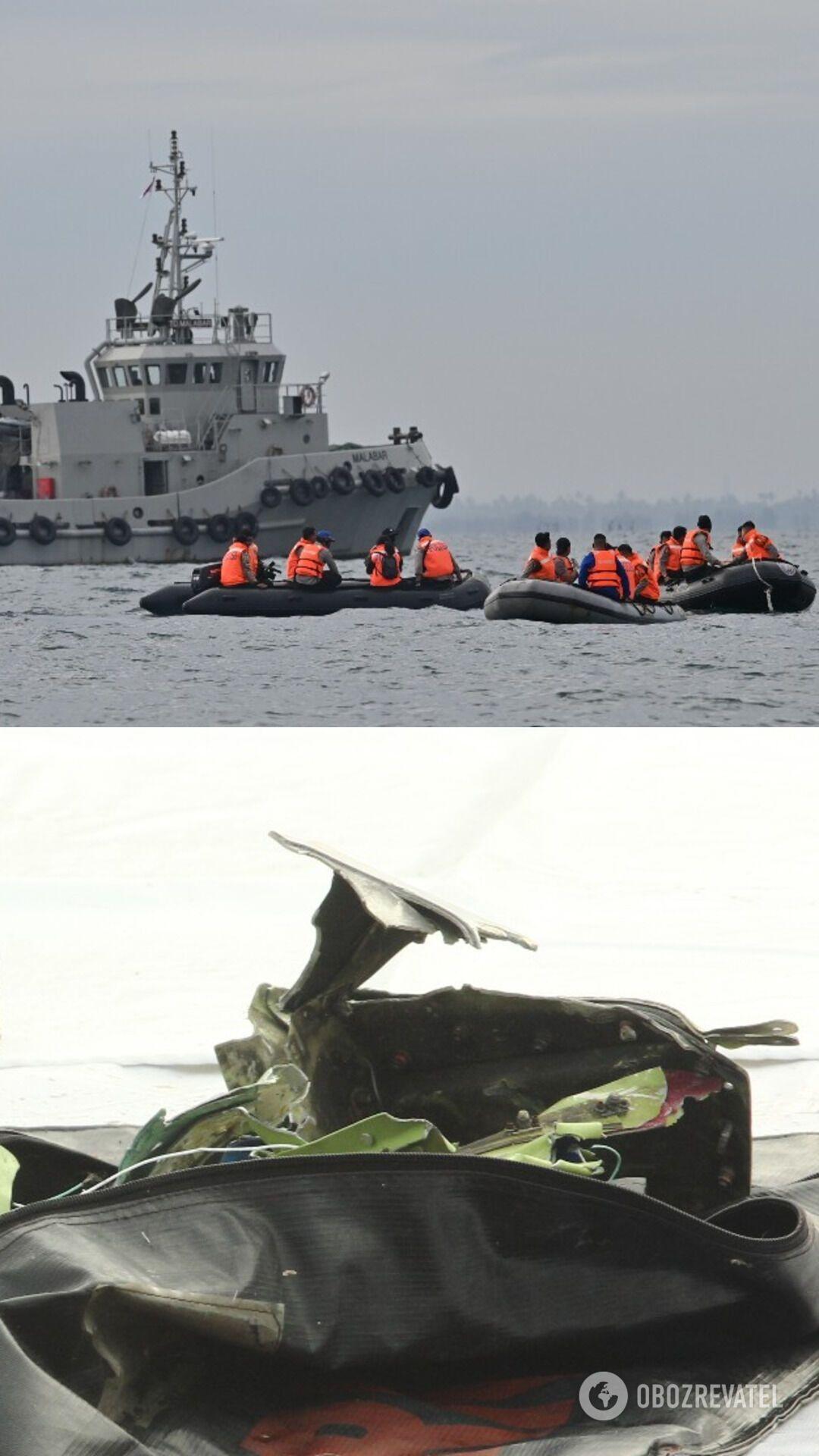 В Індонезії триває пошуково-рятувальна операція після падіння в Яванське море Boeing 737-500