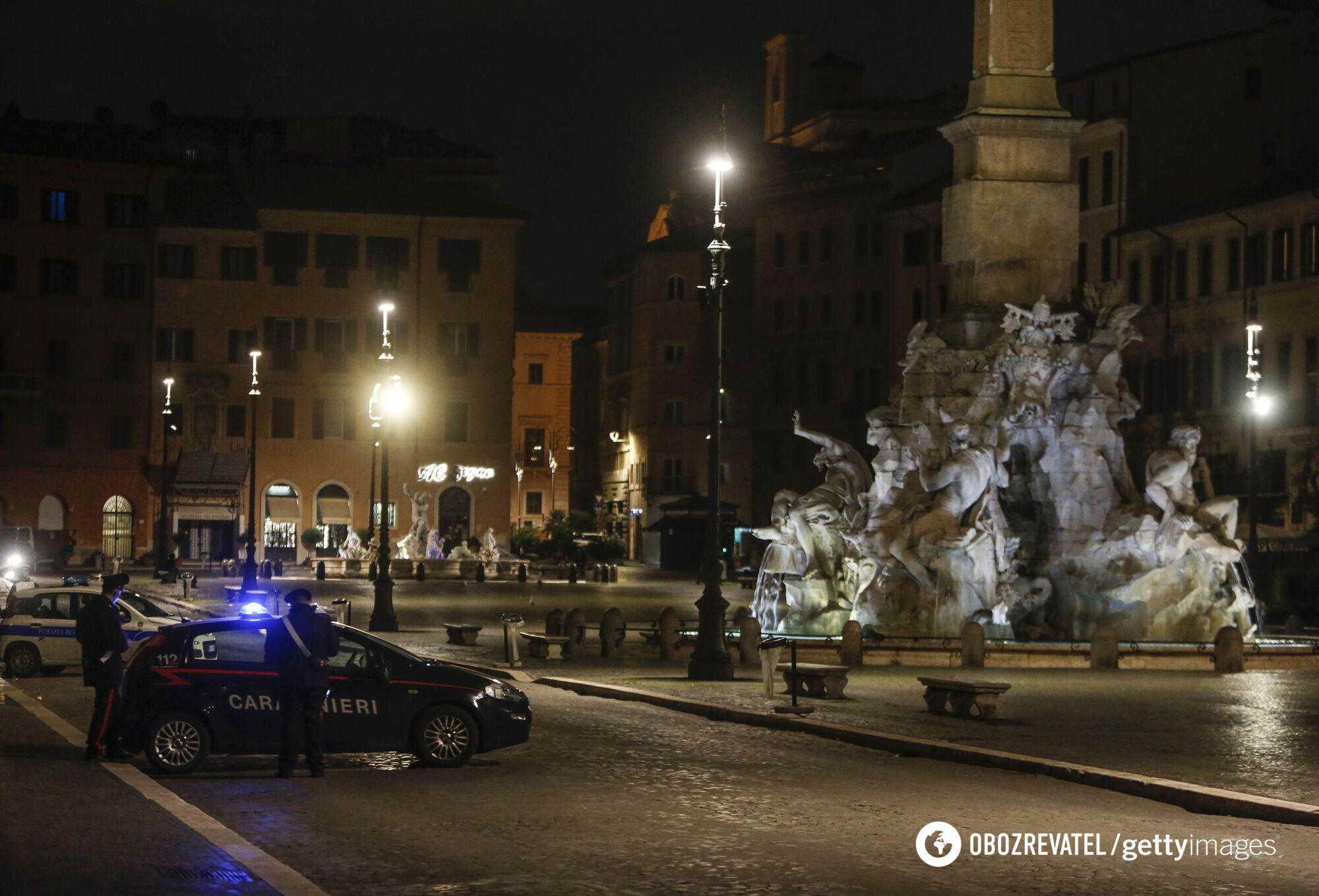 В Італії продовжує діяти комендантська година