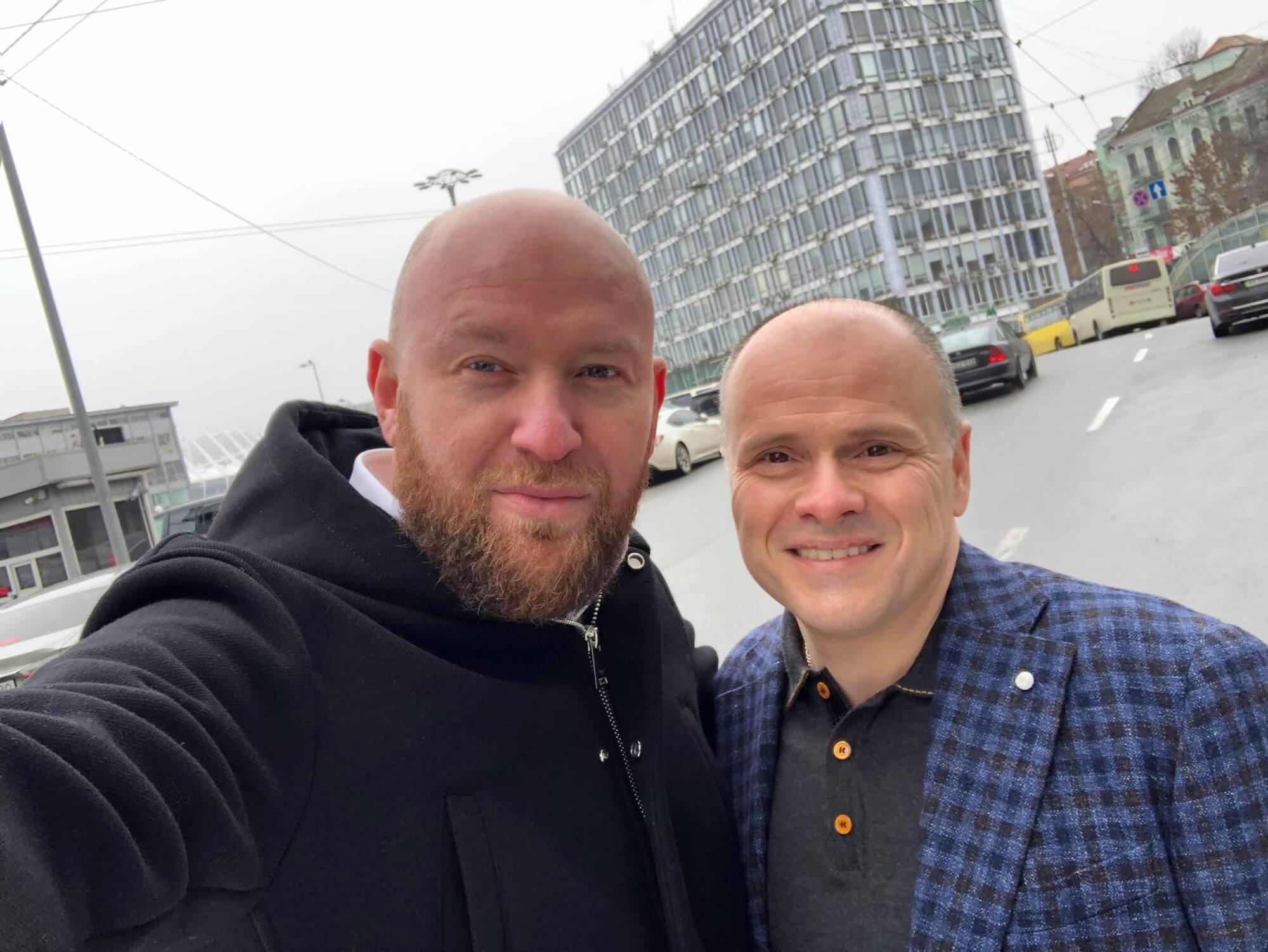Роман Гольдман и Михаил Радуцкий