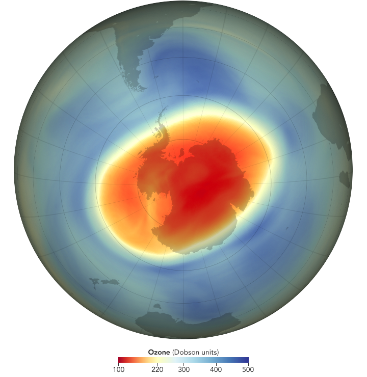 Озоновая дыра.