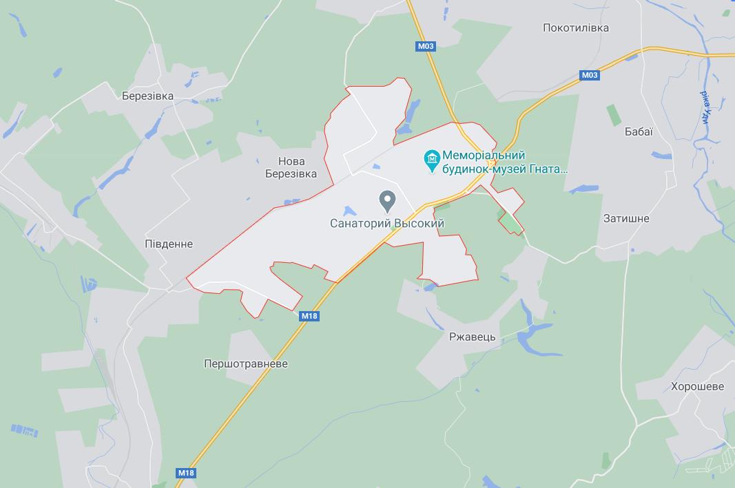 Трасу М-18 перекрыли жители поселка Высокий Харьковского района