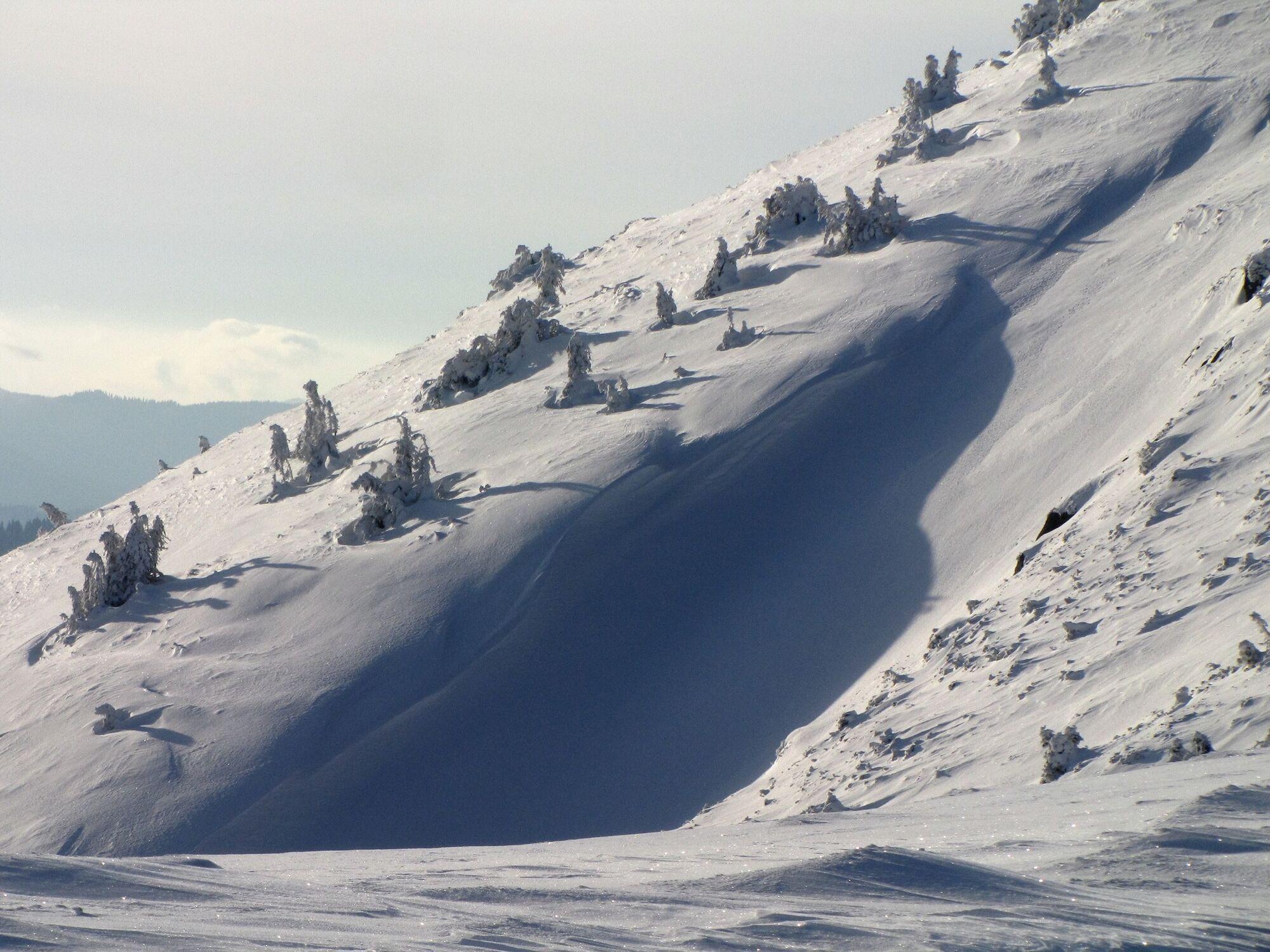 Кадри зафіксували на найвищому гірському масиві українських Карпат