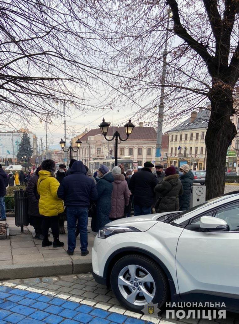 За порядком наглядала поліція Чернівецькій області