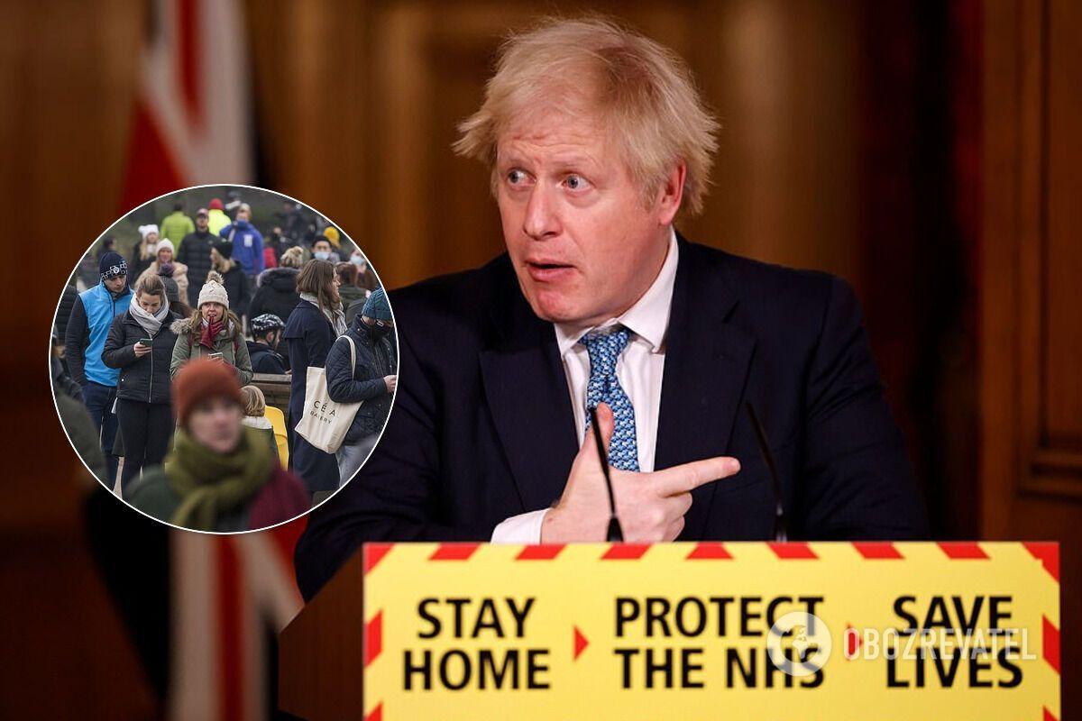 Джонсон предупредил о возможном усилении локдауна в Великобритании