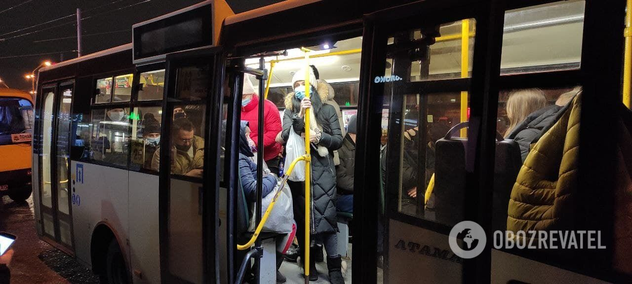 Количество пассажиров не контролируют