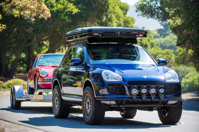 Автомобіль являє собою серйозно доопрацьований варіант моделі Cayenne Turbo S 2006 року випуску