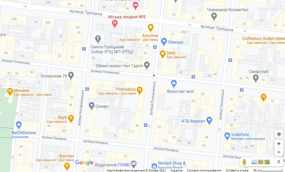 Карти Google