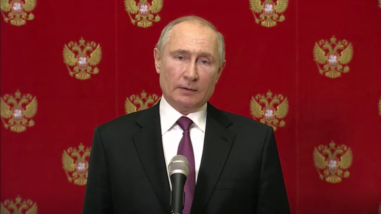 Президент РФ на брифинге