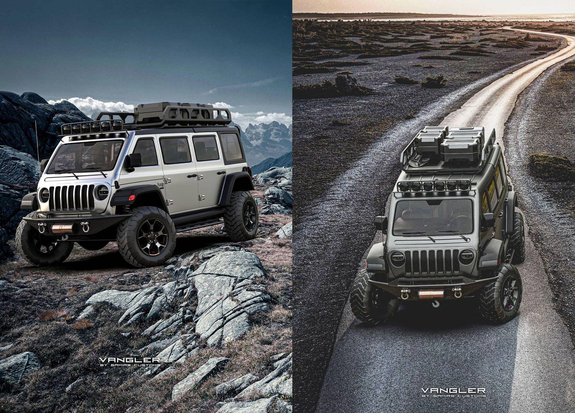За основу для свого віртуального проєкту Самір вибрав культову модель Jeep