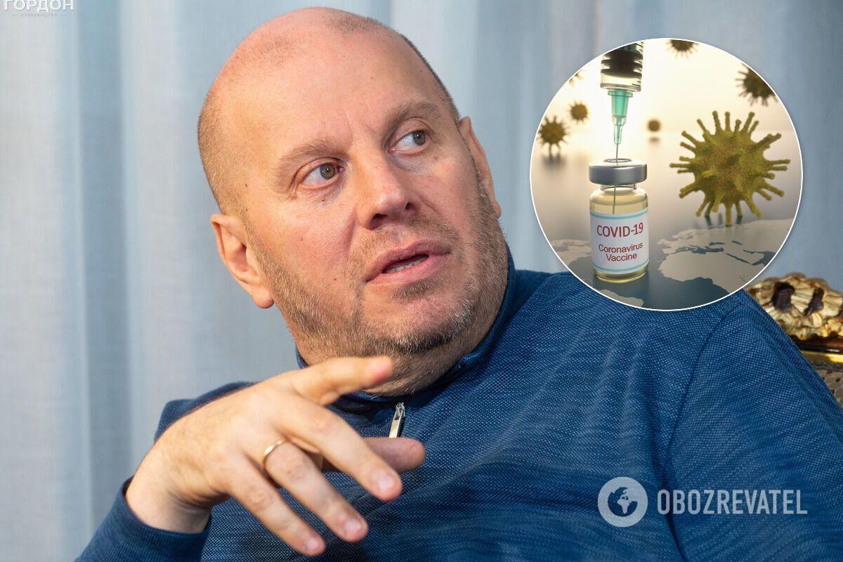 Підпільна вакцинація топчиновників в Україні може виявитися біологічною диверсією, – Бродський