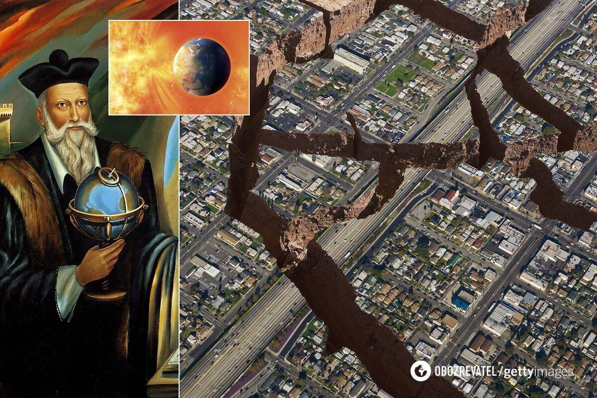 Нострадамус якобы предсказал землетрясение и солнечные бури в 2021-м