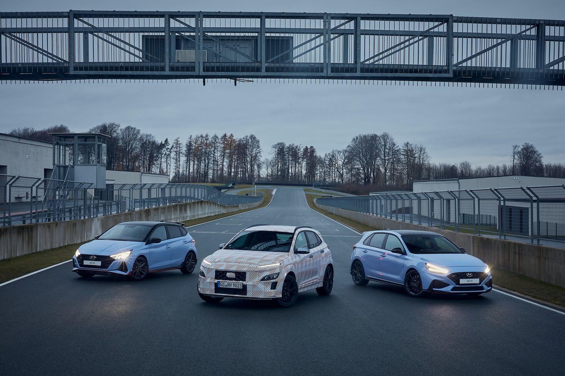 """Спортивная модификация Kona N пополнит семью """"заряженных"""" моделей марки"""