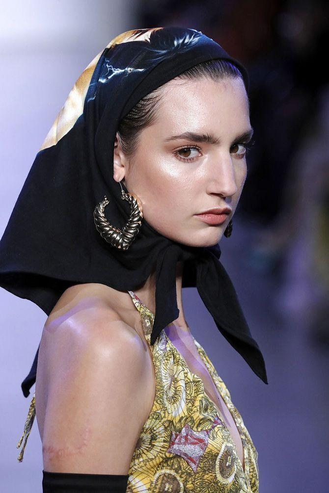 как носить платок на голове 2021