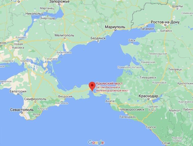 Українців затримали на Керченському мосту.
