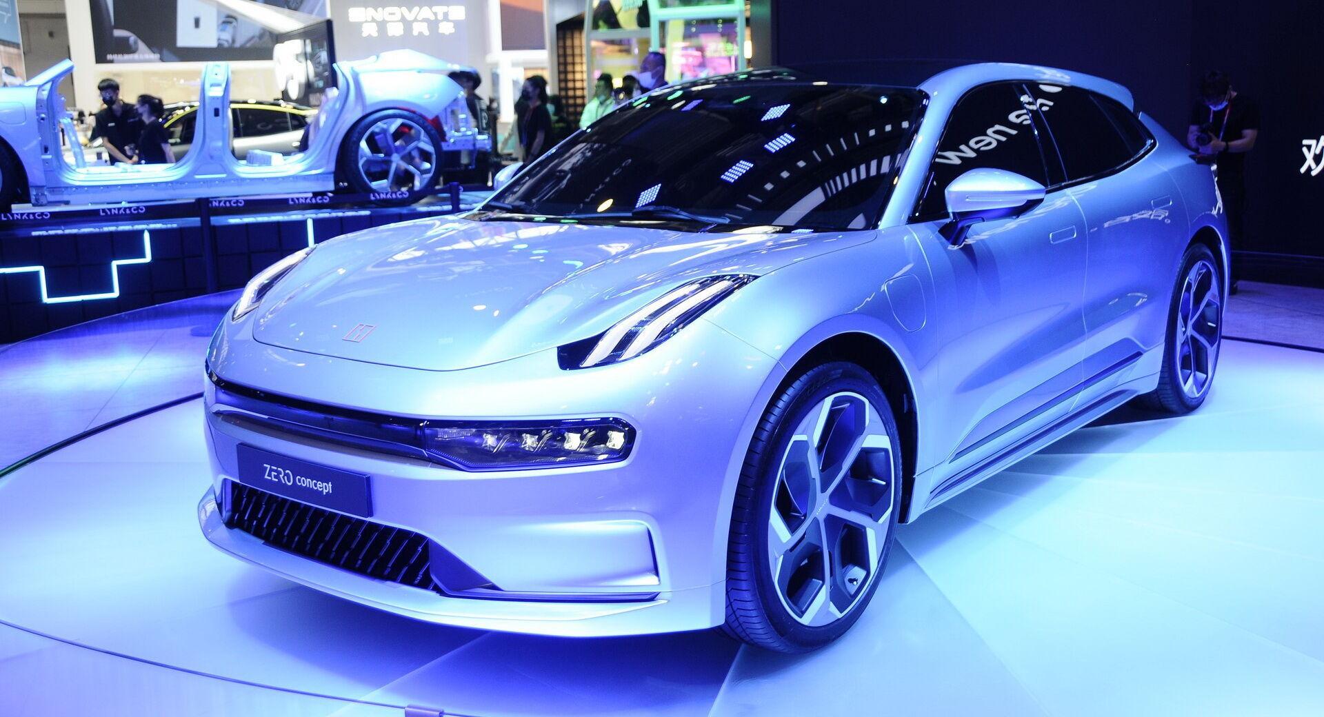 """Концептуальный электромобиль Lynk & Co Zero EV построен на """"открытой"""" платформе Geely SEA"""