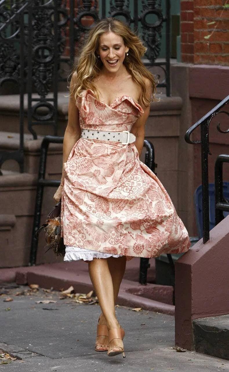 Керрі в сукні принцеси