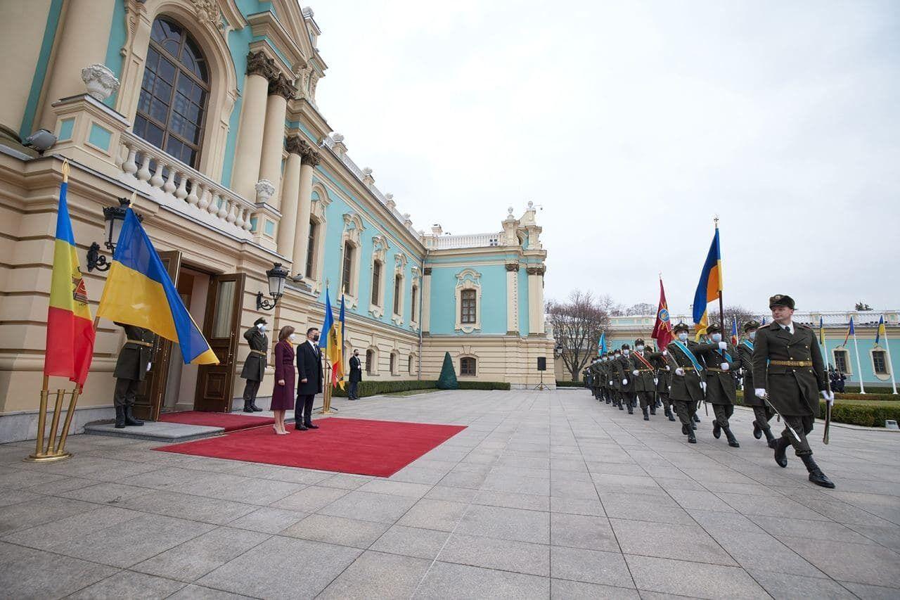 Візит Санду в Україну