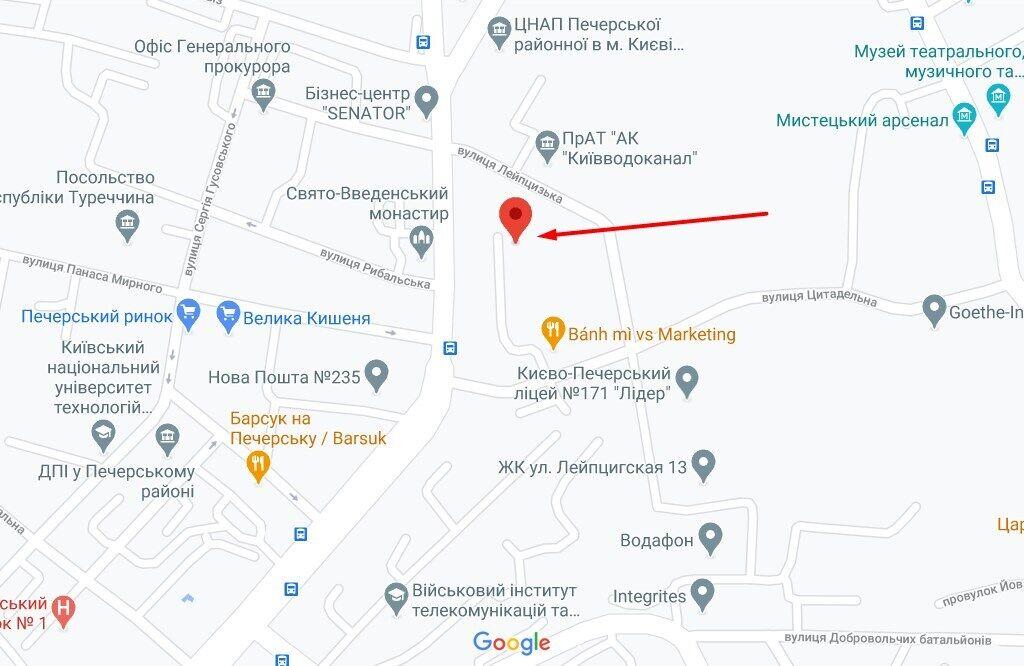 Преступление произошло на ул. Московской в Киеве