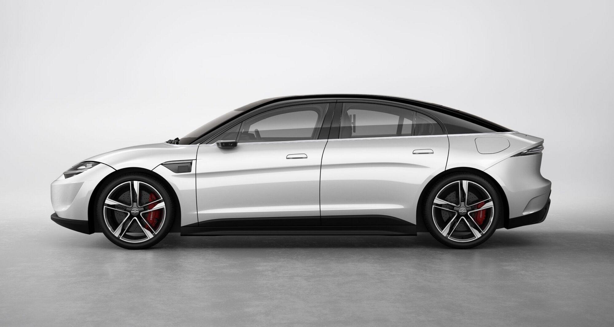 Зовнішній вигляд автомобіля виконаний у дусі биодизайна