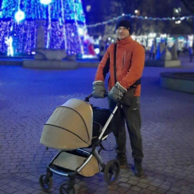 Олег Андриенко с сыном