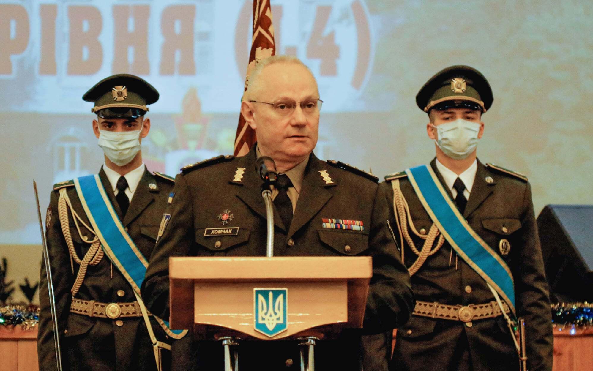 Головнокомандувач ЗСУ генерал-полковник Руслан Хомчак