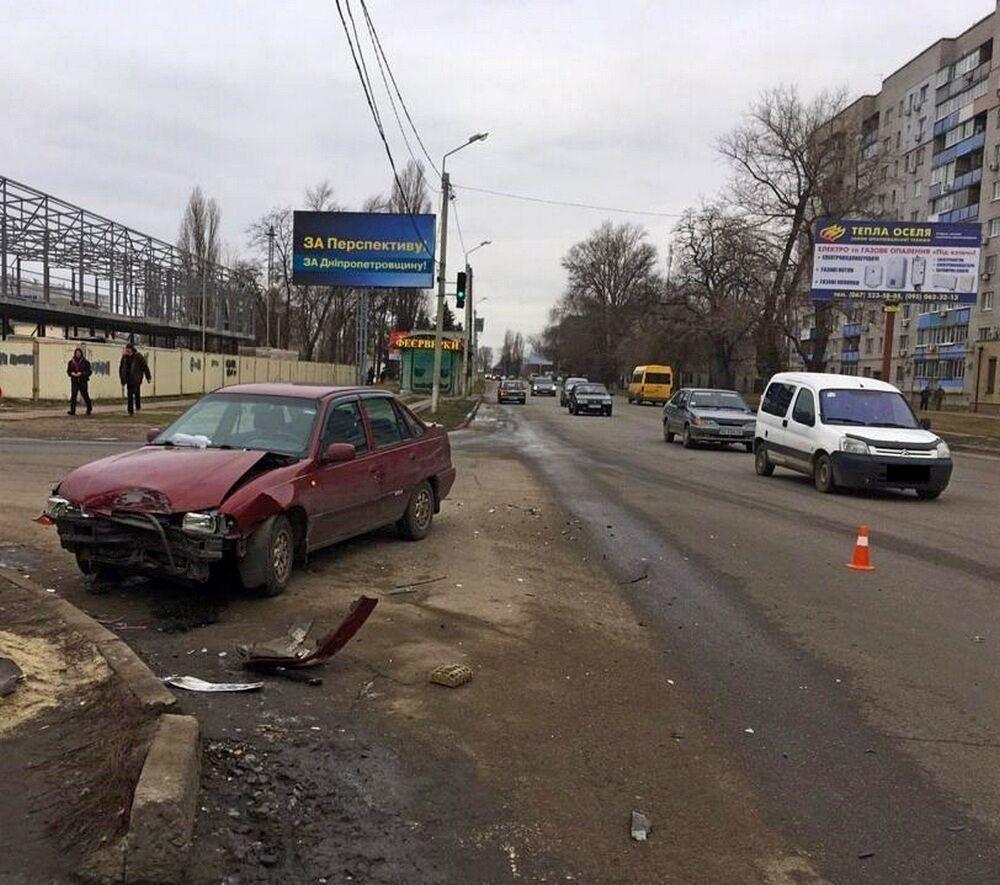 ДТП у Новомосковську