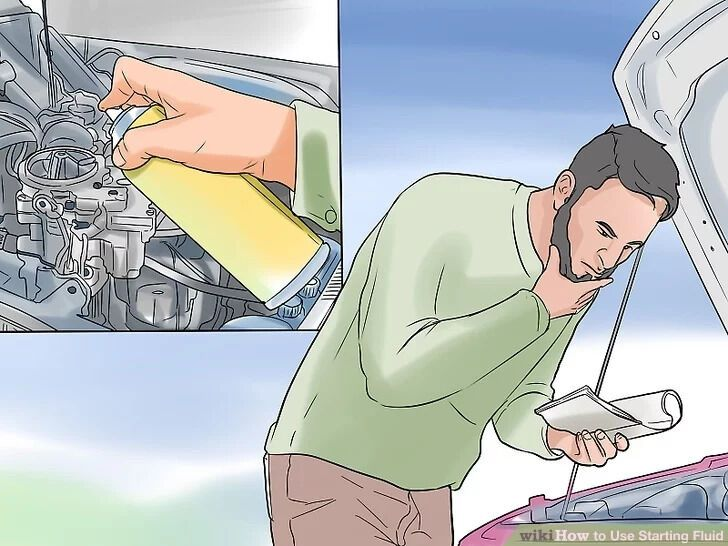 Перед использованием стартовой жидкости внимательно прочтите инструкцию по применению