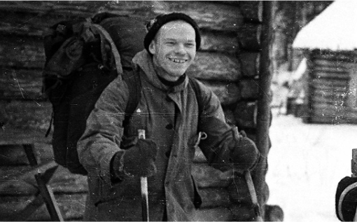 Ігор Дятлов під час експедиції.